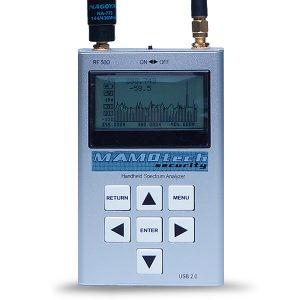 【SA-8001PH】プロフェッショナル・ハンドヘルド・スペクトラムアナライザー