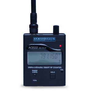 【SC-203H】デュアルバンド多機能小型周波数カウンター