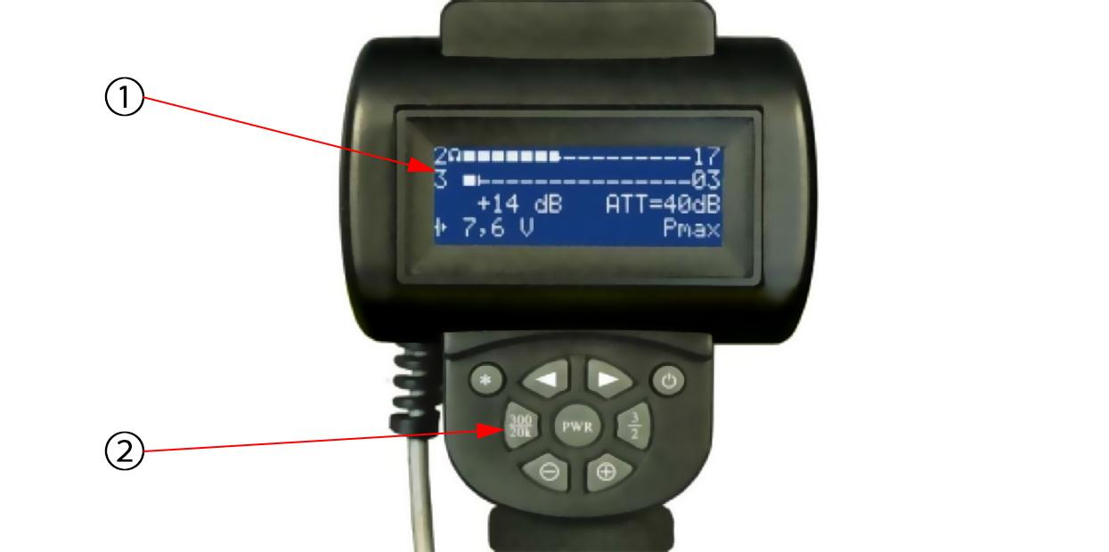 LCDモニター&コントロールユニット