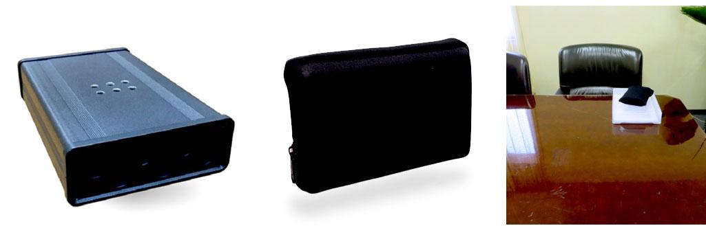 カモフラージュモバイルハードディスク型オーディオジャマー1