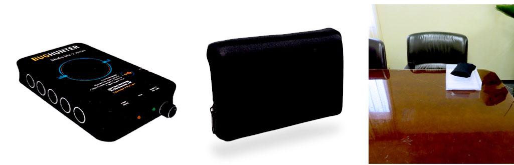 カモフラージュモバイルハードディスク型オーディオジャマー2