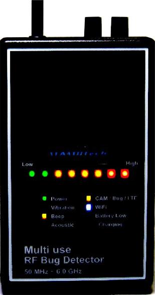 【DTK-605 UN7】多機能ハンドヘルドGPS&RFシグナル検出器