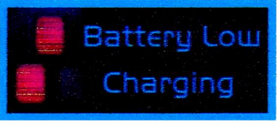 バッテリー容量低下警告機能