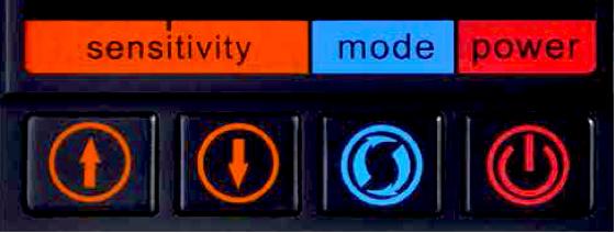 検出感度調整・オートデジタル可変調整機能