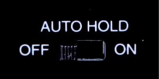 「オートホールドスイッチ」をOFF