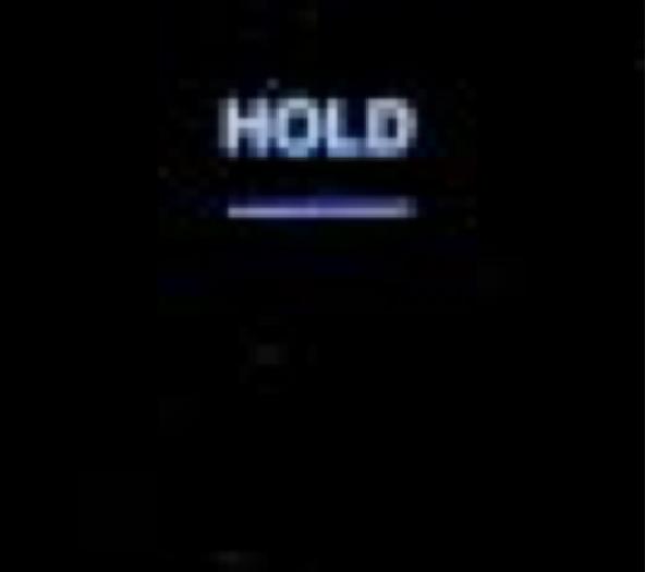 計測周波数のホールド機能