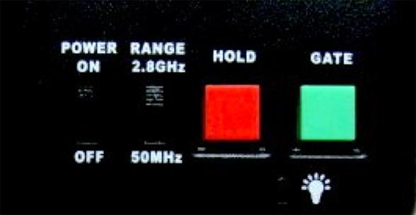 多機能コントロールパネルスイッチ