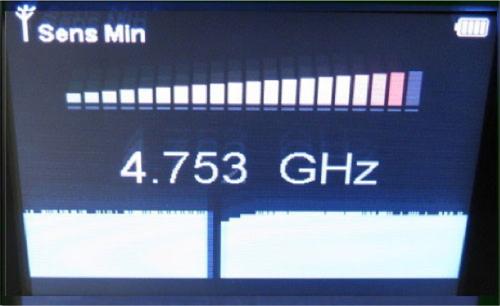 周波数カウンターモード