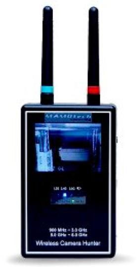 【WCH-8001PH Rev2】プロフェッショナル・スパイカメラ検出器